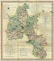 Smith's New Map Of The County Of Oxford 1801