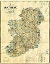 Map Of Ireland 1838